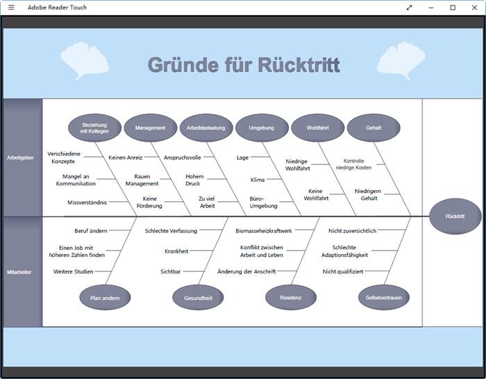 PDF Ishikawa-Diagramm Beispiel