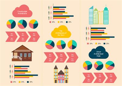 Data-Driven Infografiken Vorlage