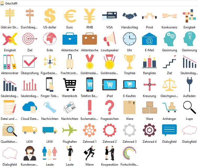 Geschäft Infografiken Elemente