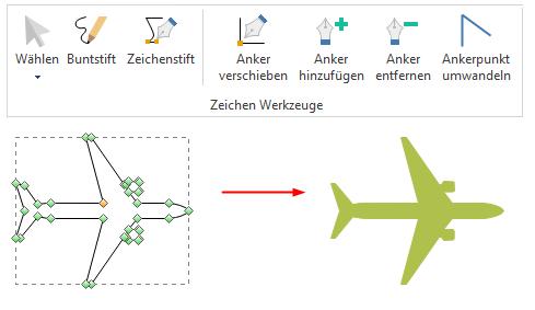 Benutzerdefinierte Elemente zeichnen
