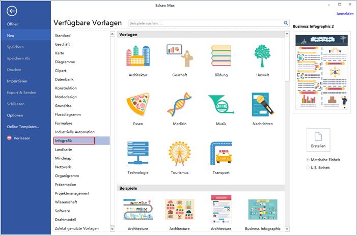Infografiken Software