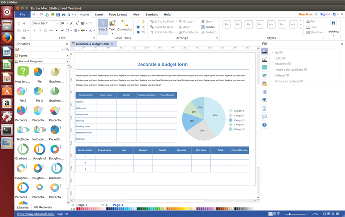 Business Form Softawre for Linux