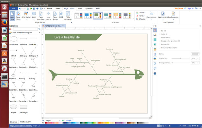 Cause and Effect Diagram Software for Linux