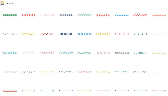 Line Elements