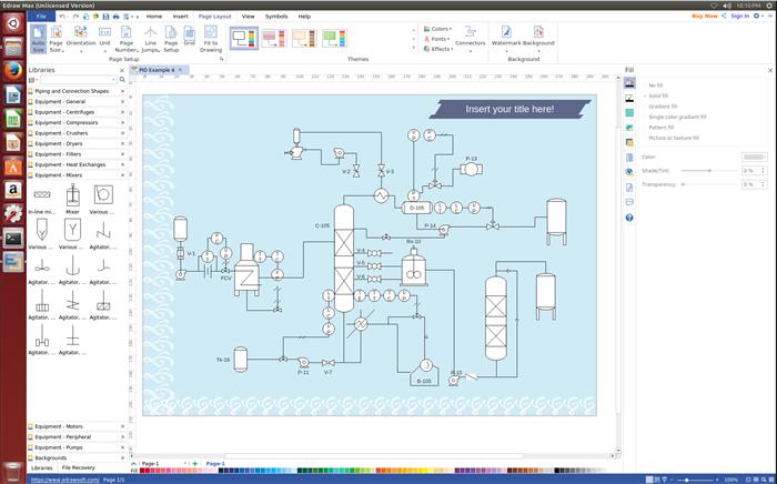 Beste Linux Pfd Software Zum Erstellen Prozessflussdiagramm