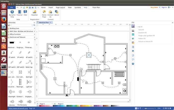 Stromlaufplan Software für Linux