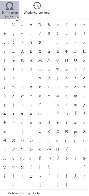 Schriftartsymbol MindMaster