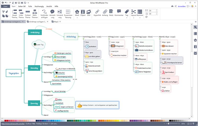 Kostenlose Mind-Map Vorlagen für Word, PowerPoint und PDF