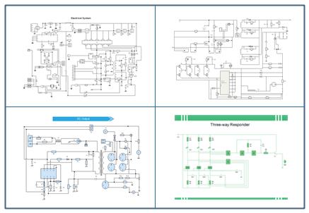 schaltplan software schematische darstellung leicht. Black Bedroom Furniture Sets. Home Design Ideas