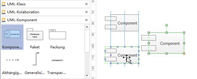 UML-Diagramm-Formen einfügen