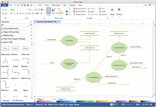er diagram visio alternative for mac - Visio Like Program For Mac