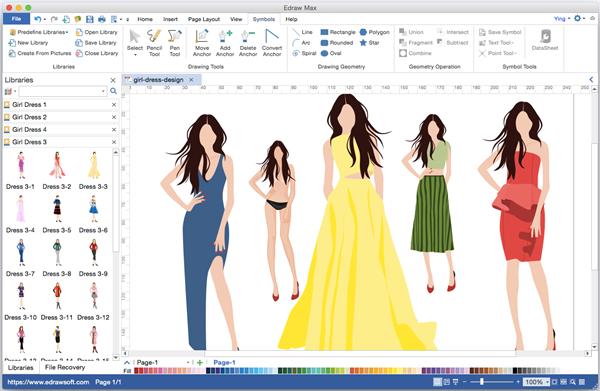 Alternativa CAD de diseño de moda