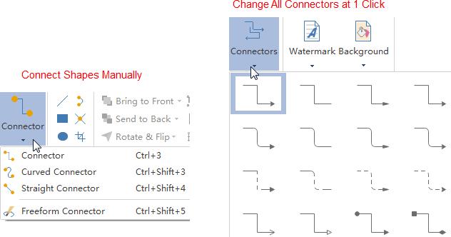 Conectar formas