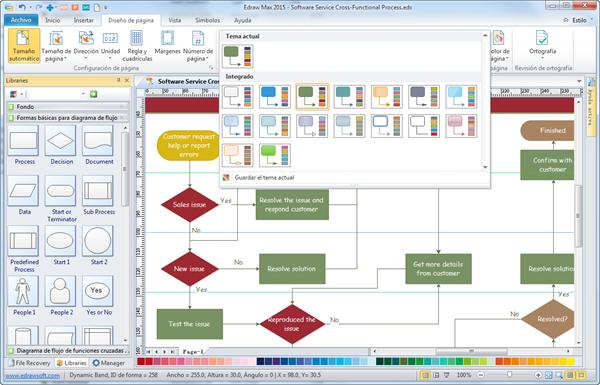 Software de diagrama de flujo crear diagrama de flujo fcilmente y tema de diagrama de flujo ccuart Choice Image