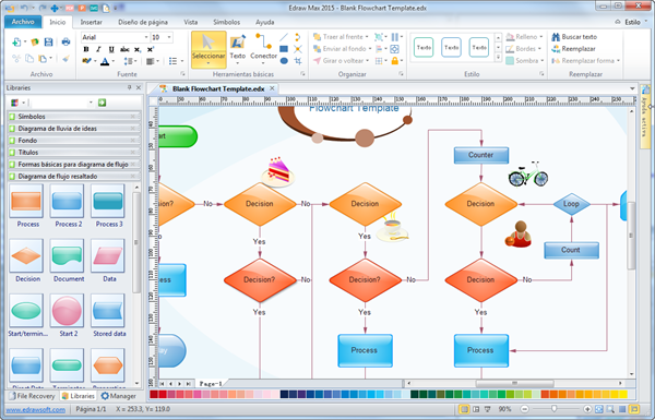 Software de diagrama de flujo crear diagrama de flujo fcilmente y flujo de trabajo ccuart Choice Image