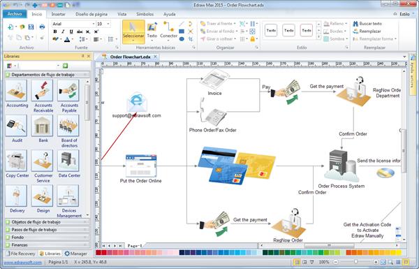 Software De Diagrama De Flujo Crear Diagrama De Flujo
