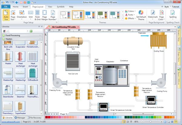 Software de Diagrama de Tuberías e Instrumentación - Crear ...