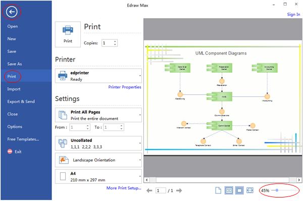 Preview Diagrama UML