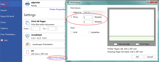 Print Workflow Diagram on 1 Paper