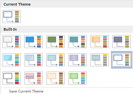 Change Workflow Diagram Theme