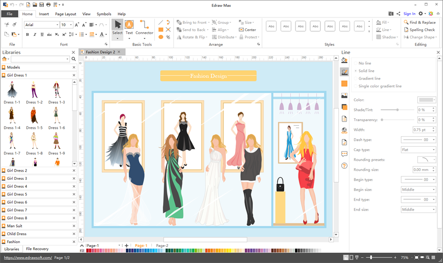 Dress Design Software