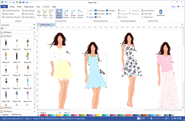 Fashion Design Desktop Program