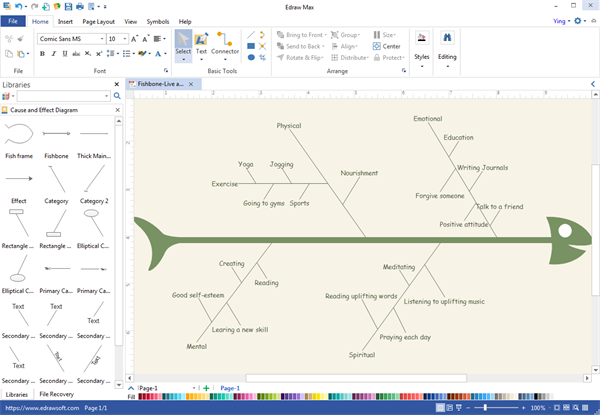 Fishbone diagram desktop program create great looking fishbone diagram fishbone diagram desktop program ccuart