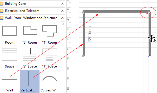 Add House Floor Plan Shapes