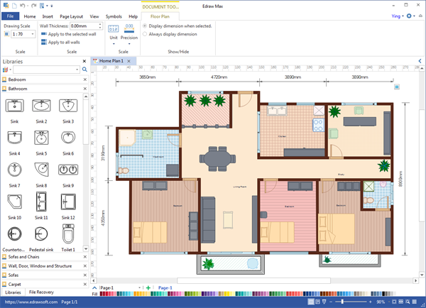 Floor Plan Desktop Program