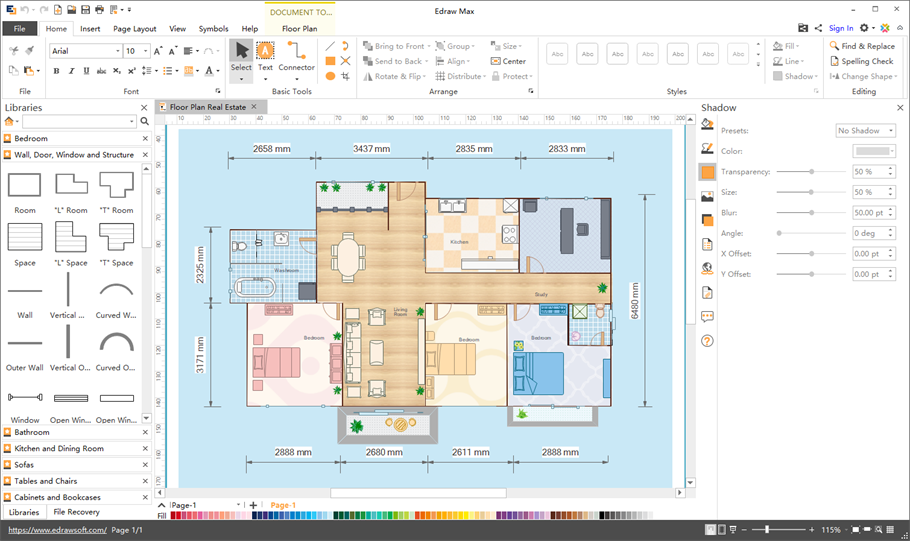 Floor plan software for mac mac floor plan software malvernweather Images