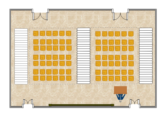 Seating Plan for Lecture Hall