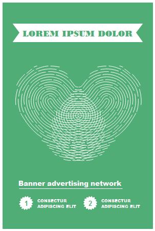 Modèle de bannière publicitaire gratuit