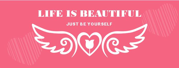 Modèle de bannière Facebook pour l'amour minimaliste