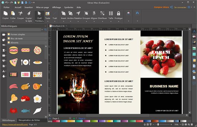 logiciel de brochure et d u00e9pliants pour windows  mac et linux