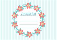 Modèle de carte d'invitation 1