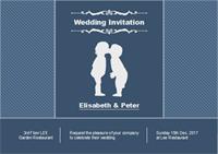 Modèle de carte d'invitation mariage personnalisables