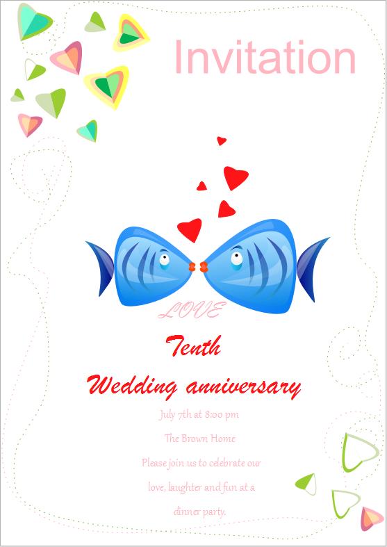 Modèles De Carte D Invitation De Mariage Gratuits à