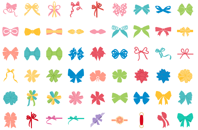 Formes vectorielles gratuites de chèque-cadeau