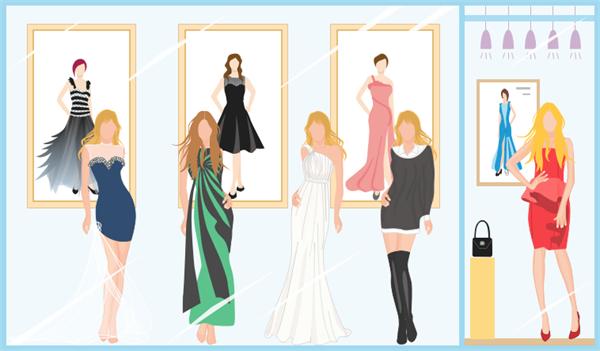 Exemples de design de mode