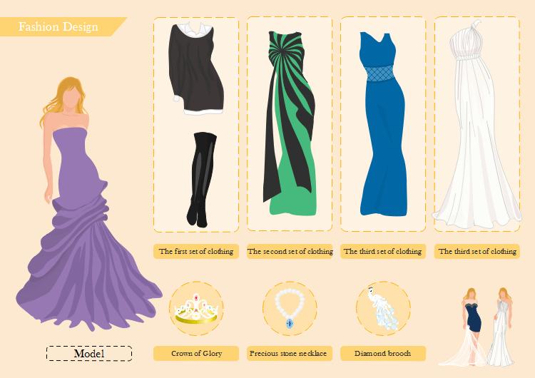 exemple de design de mode