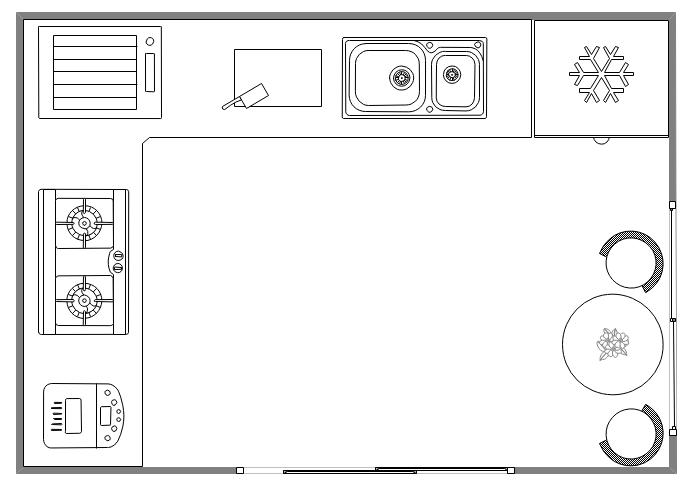 modèle de conception de cuisine