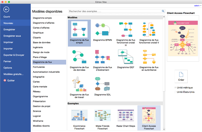 Comment r aliser un diagramme de flux sur mac - Realiser un organigramme open office ...