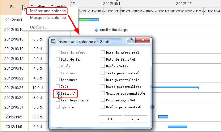 Crer un diagramme de gantt sur mac insrer des colonnes ccuart Choice Image