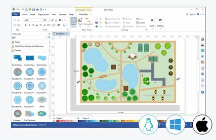Logiciel de plan de jardin travaillant sur mac windows et for Logiciel plan jardin mac