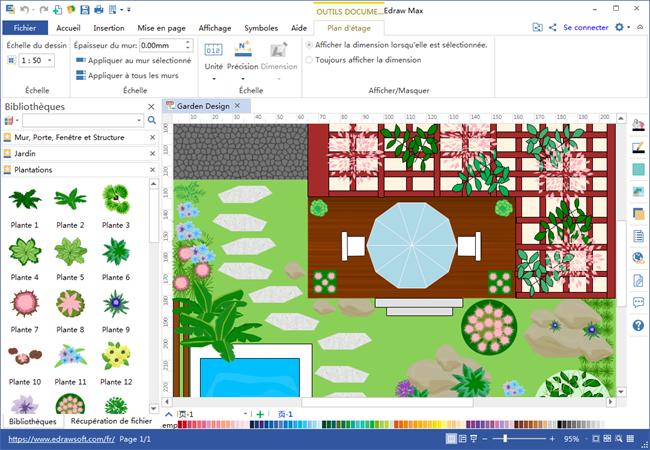 logiciel de plan de jardin