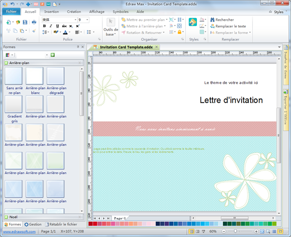 Logiciel cr ation de carte d 39 invitation for Logiciel creation de plan
