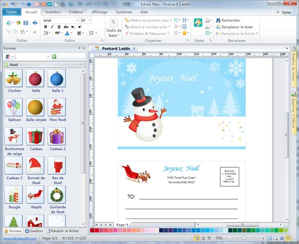 Téléchargement gratuit du logiciel de création de carte postale