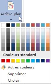 ajouter un arrière-plan de couleur uni