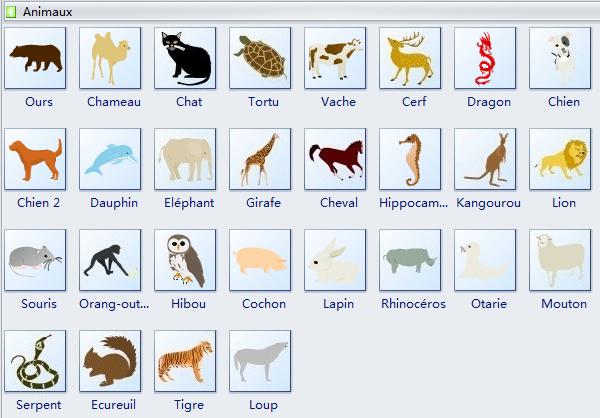 Symboles d'animaux