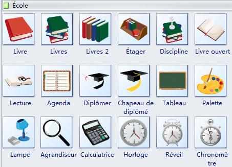 Clipart - École